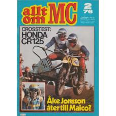 Allt om MC 1976 nr2