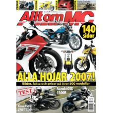 Allt om MC 2007 nr1