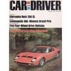 Car & Driver 1967 nr8