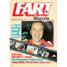 Fart Magazin 1983 nr1