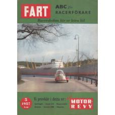Fart Magazin med Motorrevyn 1957 nr5