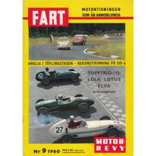 Fart Magazin med Motorrevyn 1960 nr9