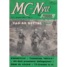 MC Nytt 1962 nr1