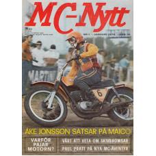 MC Nytt 1972 nr1