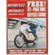 Motorcycle Mechanics 1971 nr4