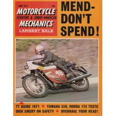 Motorcycle Mechanics 1971 nr6