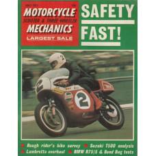 Motorcycle Mechanics 1971 nr7
