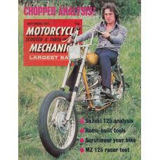 Motorcycle Mechanics 1971 nr9