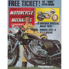 Motorcycle Mechanics 1972 nr1