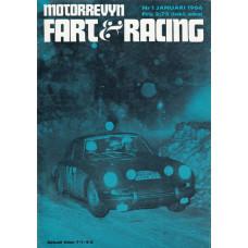 Motorrevyn med Fart & Racing 1966 nr1
