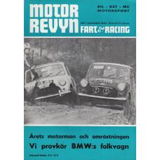 Motorrevyn med Fart & Racing 1967 nr1