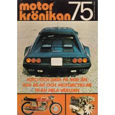 Motorkrönikan 1975