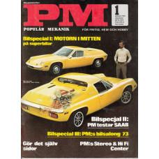 Populär Mekanik 1973 nr1