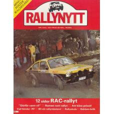 Rally Nytt 1977 nr12
