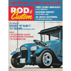 Rod & Custom 1973 nr10