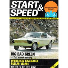 Start & Speed 1972 nr1/2