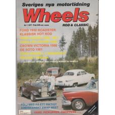 Wheels Magazine 1977 nr1