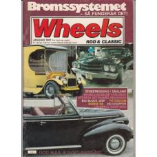Wheels Magazine 1981 nr1