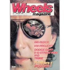Wheels Magazine 1986 nr1
