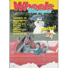 Wheels Magazine 1987 nr1