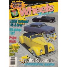 Wheels Magazine 1992 nr1